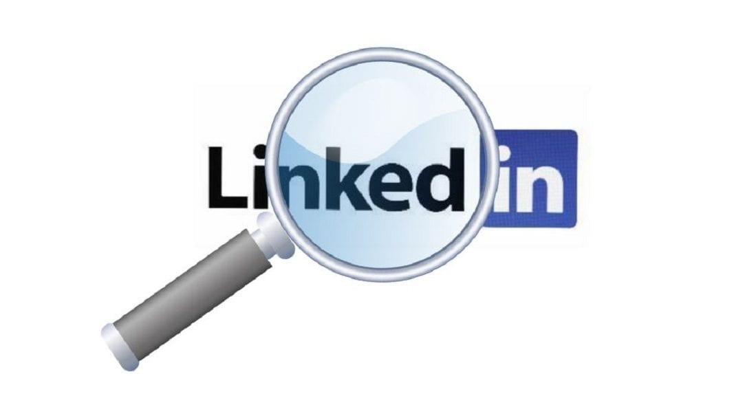find hiring managers on LinkedIn