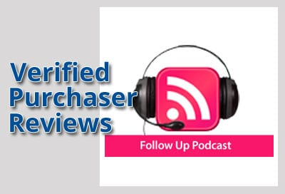 Verified Purchaser Reviews for Follow Up Podcast