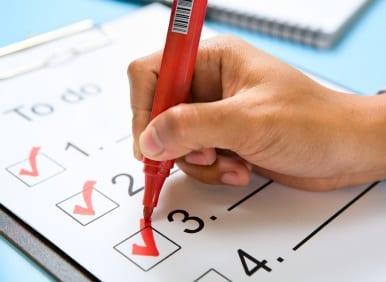 Phone Interview Tips - #30:  Make a Phone Interview Checklist