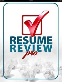 Resume writing video app for iPhone and iPad