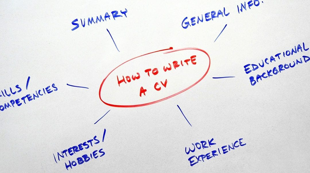 tips voor cv Curriculum Vitae Writing Tips
