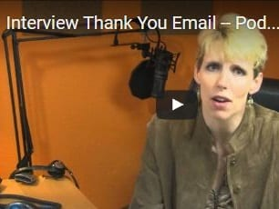 The Thank You Note After The Interview - What You Can Say To Get The Job