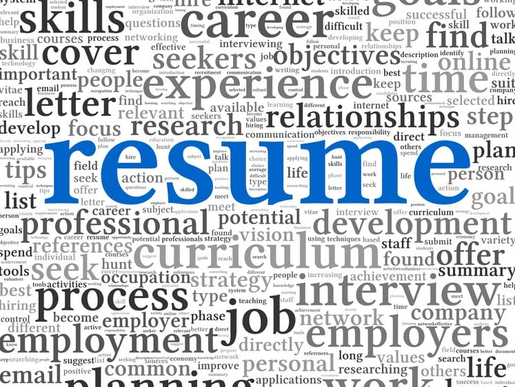 that sales job interview with a keyword packed resume