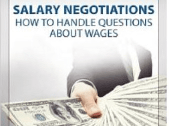 Amazon.com - Salary Negotiations:  How to Handle Questions About Salary