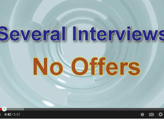 Job Interviews - Why Aren't You Making the Cut?