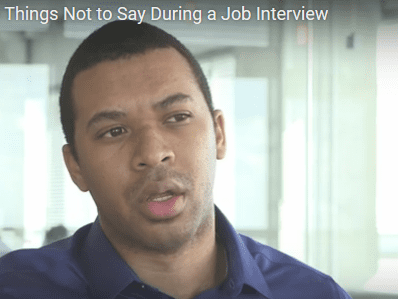 Top 100 Things NOT To Say In a Job Interview