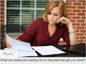 what do employers really look for in a resume