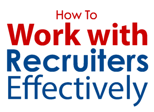 How to Work with Recruiters Effectively Amazon eBook