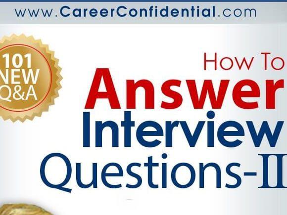 101 Tough Job Interview Questions
