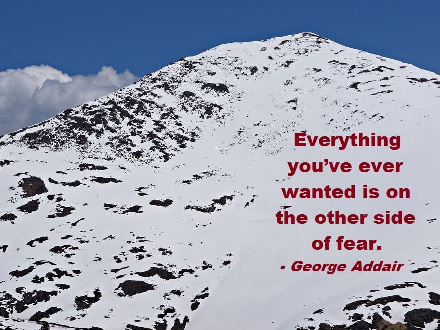 Monday Motivator for Your Job Search - The Other Side of Fear