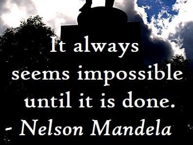 Monday Motivator for Your Job Search - It Only Seems Impossible