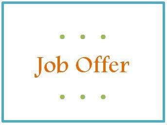 job offer success story