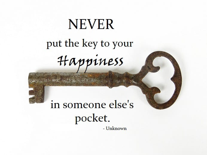 Monday Motivator for Your Job Search - The Key to Your Happiness