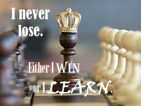 Monday Motivator for Your Job Search - Never Lose