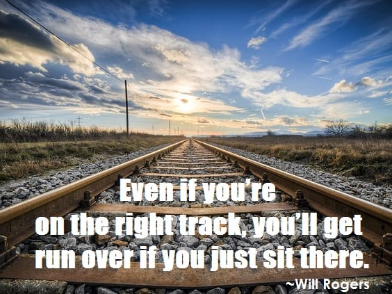 Monday Motivator for Your Job Search - Don't Get Run Over