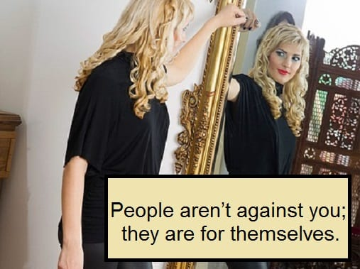 Monday Motivator for Your Job Search - People Aren't Against You