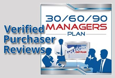Verified Purchaser Reviews for 30/60/90 Day Plan for Managers