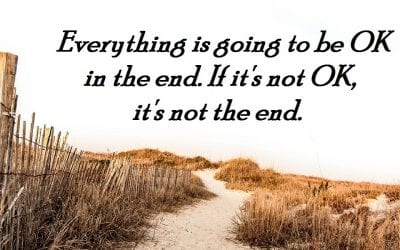 Monday Motivator for Your Job Search - Everything Will Be OK