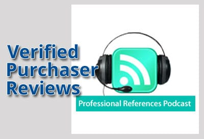 Verified Purchaser Reviews for References Podcast