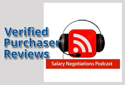 Verified Purchaser Reviews for Salary Negotiations Podcast