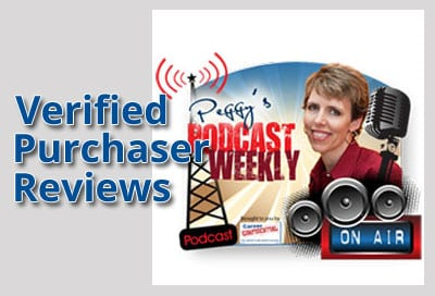 Verified Purchaser Reviews for Peggy's Podcast Weekly