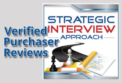 Verified Purchaser Reviews for Strategic Interview Approach