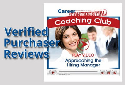 Verified Purchaser Reviews for Video 1 - Approaching the Hiring Manager