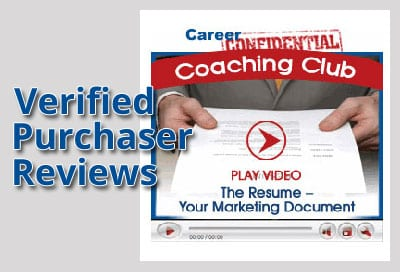 Verified Purchaser Reviews for Video 2 - The Resume