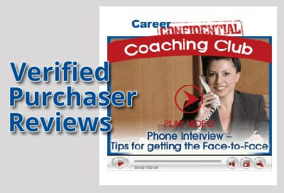 Verified Purchaser Reviews for Video 3 - Phone Interviews