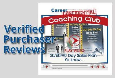 Verified Purchaser Reviews for Video 5 - 30/60/90 Days Sales Plans