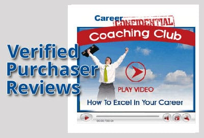 Verified Purchaser Reviews for Video 9 - How to Excel in Your Career