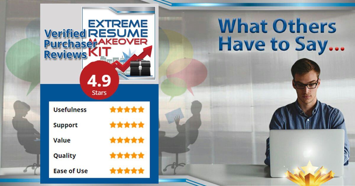 extreme resume makeover kit product reviews career confidential
