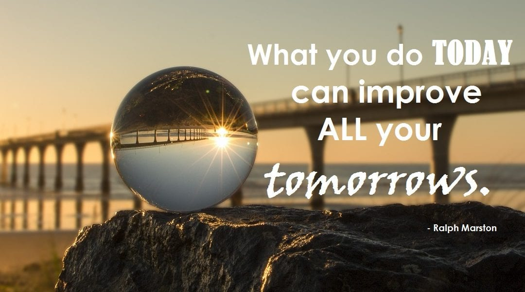 Job Search Motivator - Improve Your Tomorrow