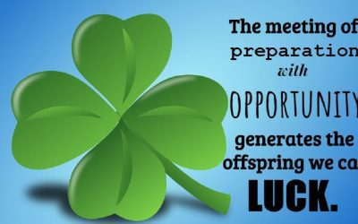 Job Search Motivator - Make Your Own Luck