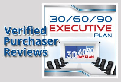 Verified Purchaser Reviews for 30/60/90 Day Plan for Executives