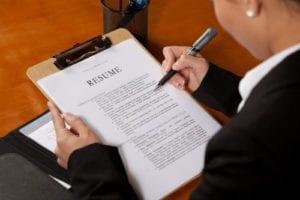 executive resume myths