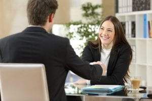 connect with a hiring manager